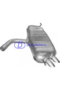 Глушитель для VW Golf V 2.0 SDi Diesel Hatchback 01, 04-11, 08 (30.617 Polmostrow)